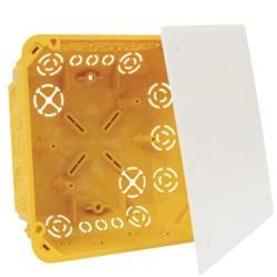 Caja registro empotrar paredes huecas