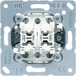 MECANISMO DOBLE CONM.10AX/250V
