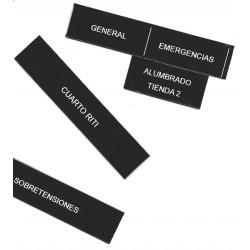 Etiquetas rotulación