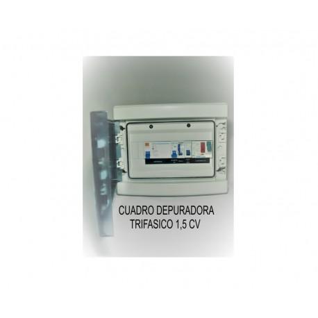 CUADRO DEPURADORA TRIFASICO 1,5 CV