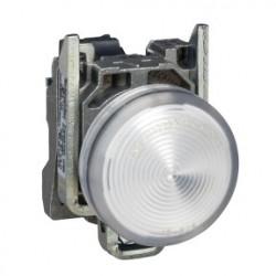 PILOTO C/LED d.22 24V BLANCO EMET.