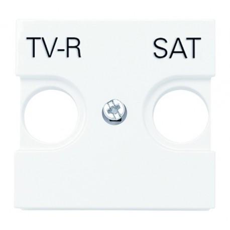 TAPA TOMA TV-R/SAT ZENIT BLANCA