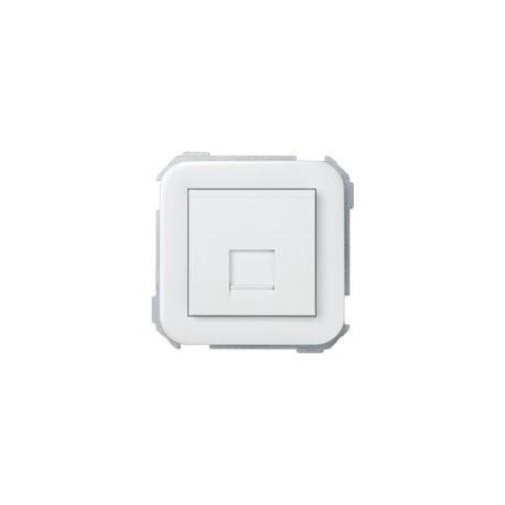 ADAPTADOR 1 CONECTOR RJ-AMP SIMON 31 BLANCO