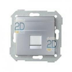 Tapa Informática 1 Conector Amp Aluminio 82005-33