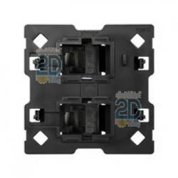 Adaptador Para 2 Conectores Rj45 2m 10000002-039