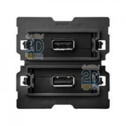 Conector 2xusb 2.0 A Hembra 2m 10000562-039