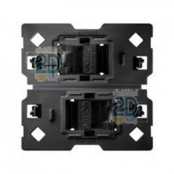 Adaptador Con 2 Conectores Rj45 Cat6 2m 10002544-039