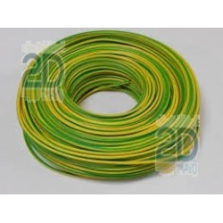 Cable electrico flexible bicolor H07V-K