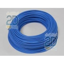 Cable electrico flexible azul H07V-K