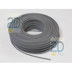 Cable electrico flexible gris H07V-K