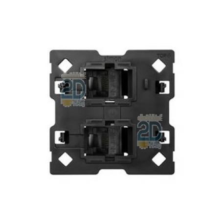 Kit Back 1 Elemento 2 Tomas Rj45 10010111-039