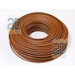 Cable electrico flexible marron H07V-K