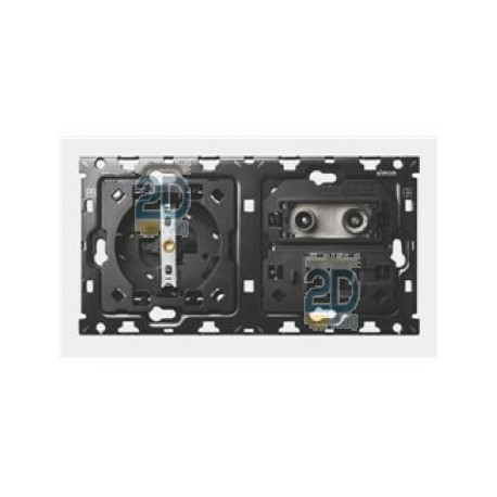 Kit 2 Elementos Base + Tv + Rj45 10010208-039