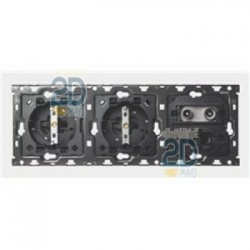 Kit 3 Elementos 2 Bases + Tv + Rj45 10010303-039