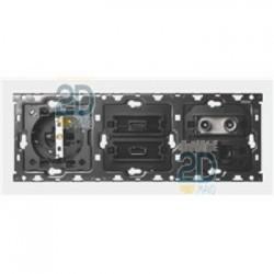 Kit 3 Elementos Base + Hdmi + Usb + Tv + Rj45 10010304-039