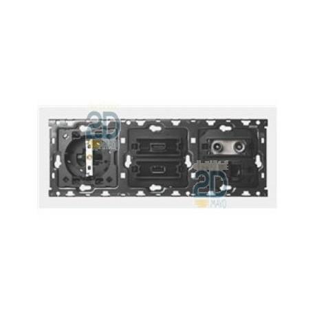 Kit 3 Elem Base + Hdmi + Usb + Tv + Rj45 10010304-039