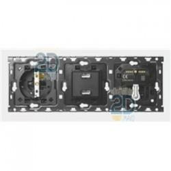 Kit 3 Elementos Base + Cargador 2 usb + Pers + Conm 10010306-039