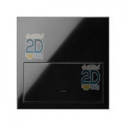Kit Front 1 Elemento Interruptor Regulable Negro 10020113-138