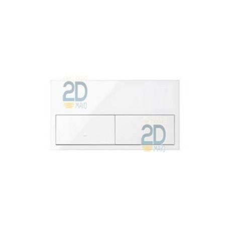 Kit Front 2 Elementos 2 Teclas Blanco  10020201-130