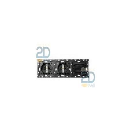 Kit 3 Elementos 2 Bases + Cargador Usb Doble 2x2.1a 10010309-039
