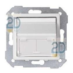 Adaptador Universal 2 Conectores Blanco 82579-30