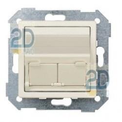Adaptador Universal 2 Conectores Marfil 82579-31