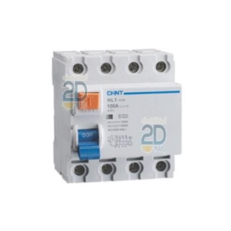 Interruptor diferencial NL1 4P AC