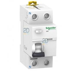 Diferencial Schneider-2P-25A-30mA-A9R60225
