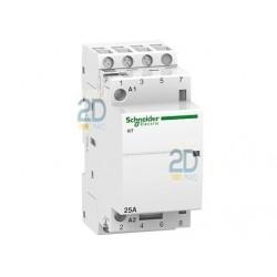 Contactor modular 4 Polos Schneider