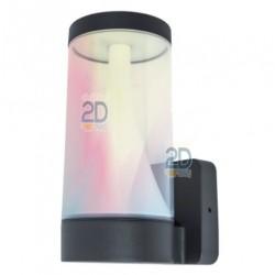 Aplique Cilindrico RGB 16w