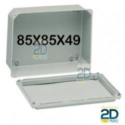 Caja de metal 85x85