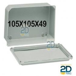 Caja de metal 105x105