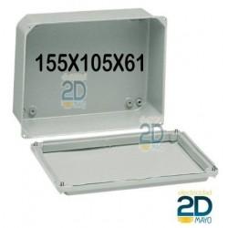 Caja de metal 155x105