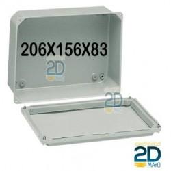 Caja de metal 206x156