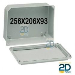 Caja de metal 256X206