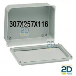 Caja de metal 307x257