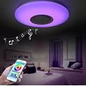 Plafon LED RGB con altavoz