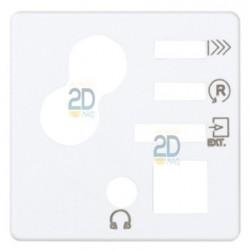 Tapa para mando digital de 1 canal con sintonizador FM y salida jack 3,5 mm