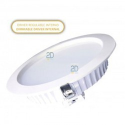 downlight-led-24-watios-redondo-blanco-dimable