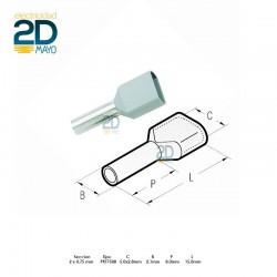 puntera-doble-hueca-preaislada-pkt-7508-gris-2-x-0,75-mm