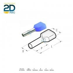 puntera-doble-hueca-preaislada-pkt-2510-azul-2-x-2,5-mm