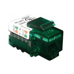 CONECTOR H RJ45 CAT-5E UTP 100MHZ