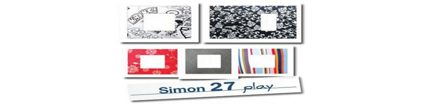 Funda Marcos y Teclas Simon 27 Play